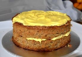 Gluten-free Courgette and Orange Cake