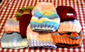 Ten hats for an orphanage